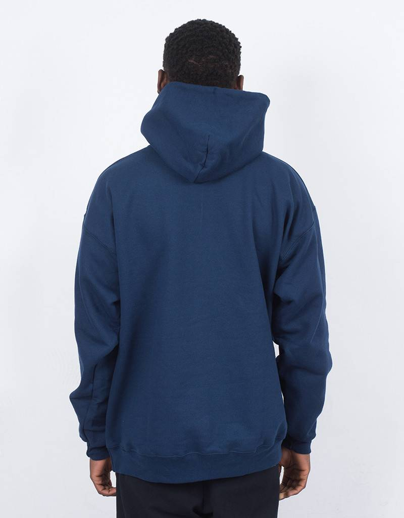 Thrasher Flame Hoodie Navy