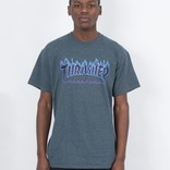 Thrasher Flame T-shirt Dark Heather