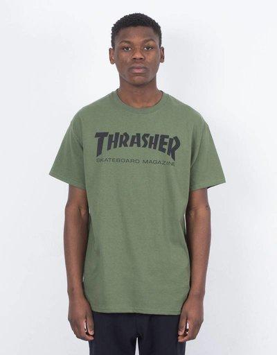 Thrasher Skate Mag T-shirt Army