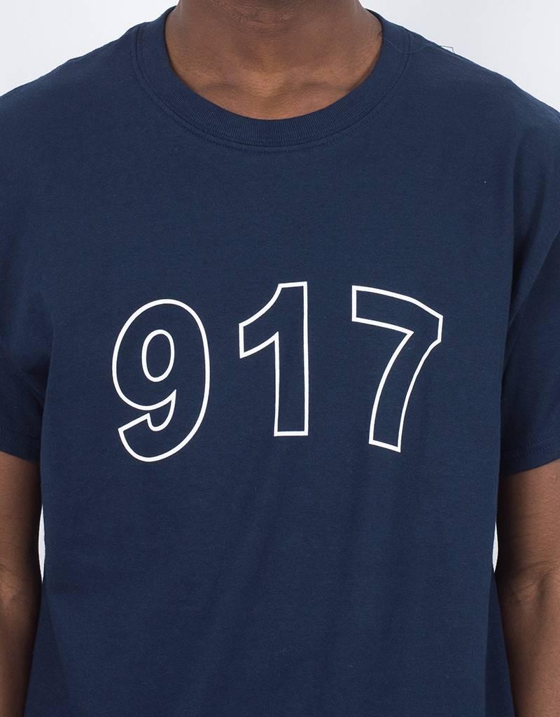 Call Me 917 Block T-Shirt Navy