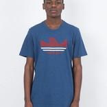 adidas Nautical Shmoo T-Shirt Blue/Red/White
