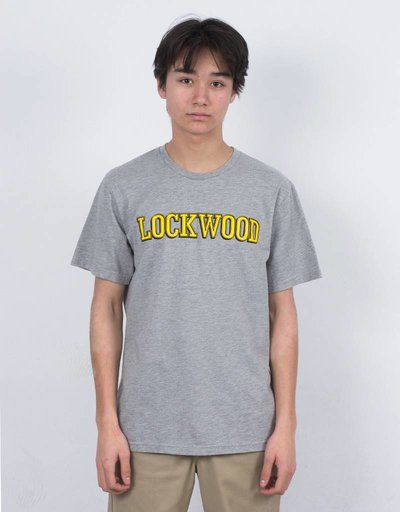 Lockwood Old 3D Yellow T-shirt Heather Grey