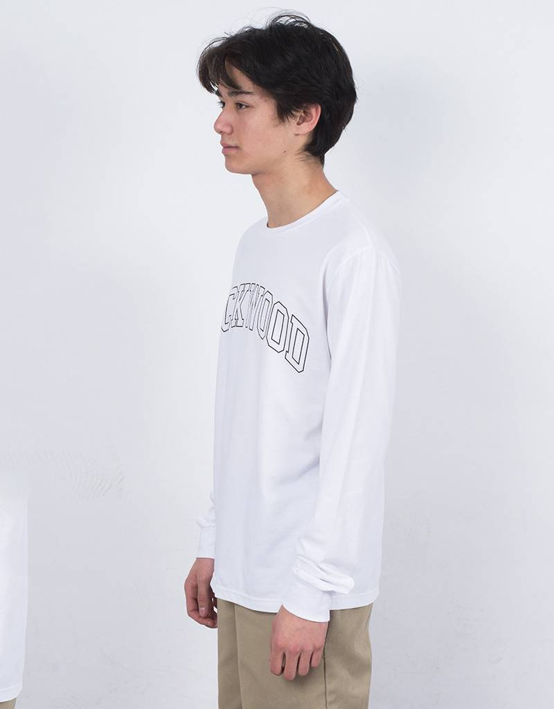 Lockwood Old College Longsleeve T-shirt White