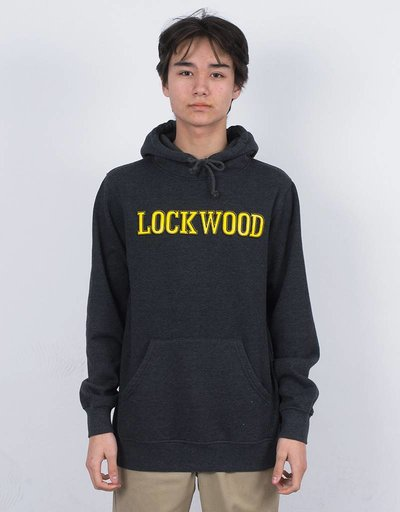 Lockwood Old 3D Yellow Hoodie Charcoal