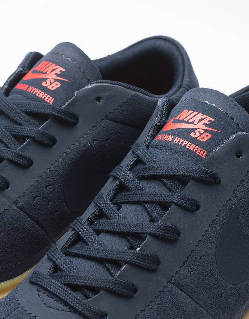 Nike SB bruin hyperfeel obsidian/obsidian