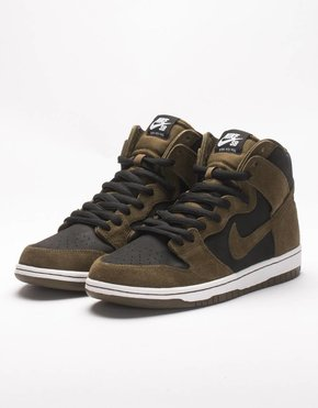 Nike SB Nike Dunk High Premium Dark Loden/Black/White