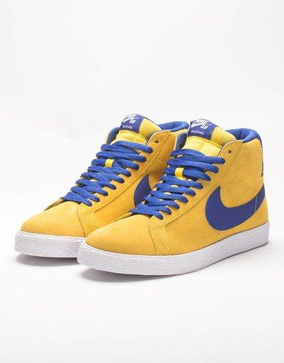 Nike SB Blazer Zoom Mid Tour Yellow/Deep Night