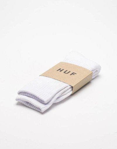 Huf Plantlife Glow In Dark Socks White