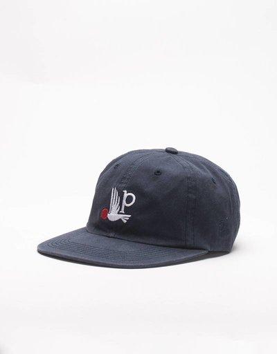 Parra Bird P Sixpanel Cap Navy Blue