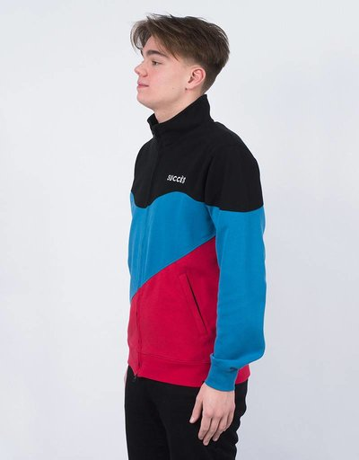 Parra Track Top Succes Black/Blue/Red
