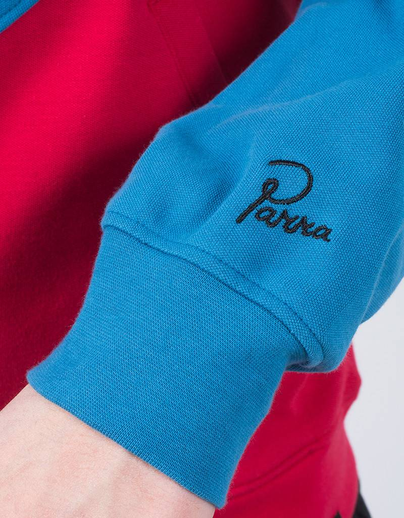 Parra Track Top Succes Black/Blue/Red