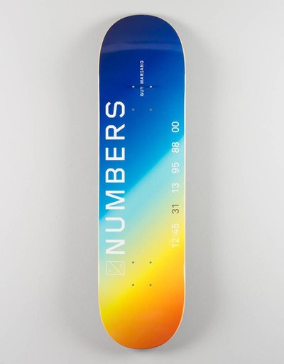 "Numbers Mariano Edition 1 8,1"" Deck"