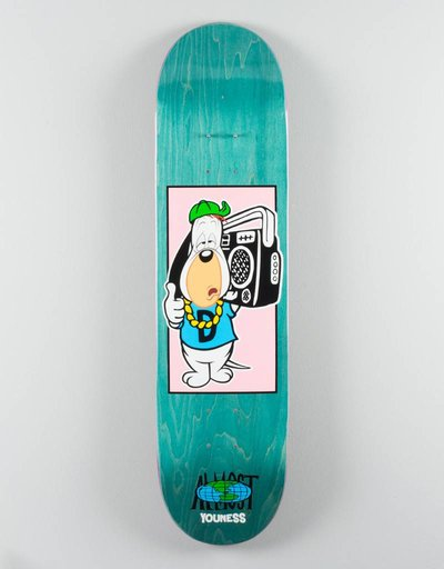 Almost Youness Droopy B-Box Deck 8,0""