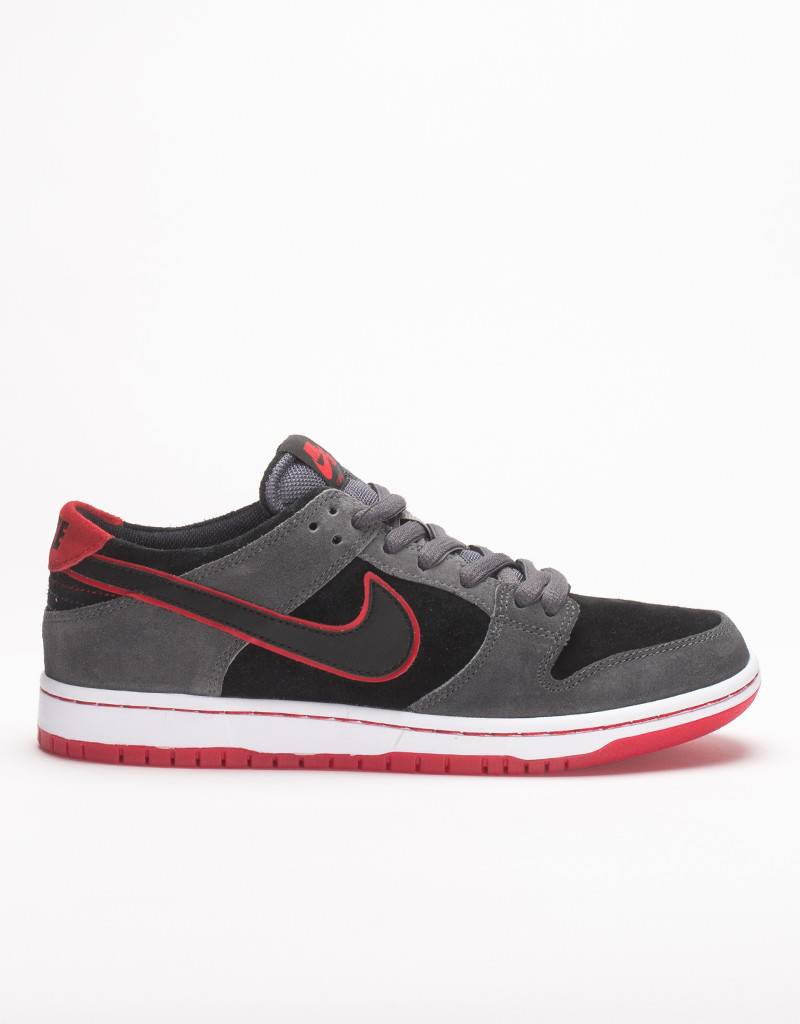 Nike SB Zoom Dunk Low Pro Ishod Wair Dark Grey/Black/University Red