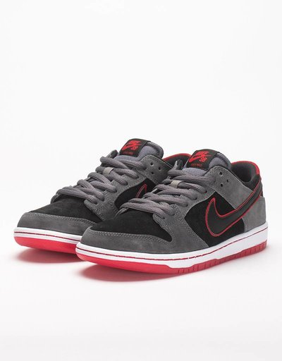 Nike SB Zoom Dunk Low Pro Ishod Wair Dark Grey/Black/University Red