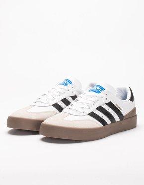 adidas Skateboarding Adidas Busenitz Vulc Samba Edition Ftwr White/Core Black/Bluebird