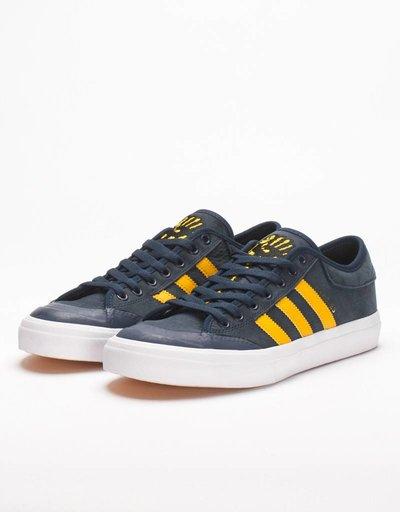 adidas x Hardies Matchcourt Navy/Yellow