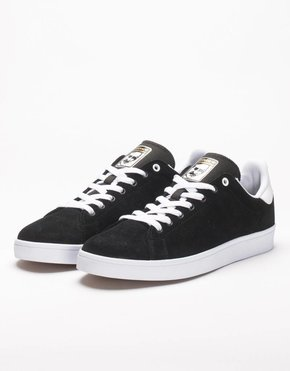 adidas Skateboarding Adidas Stan Smith Vulc Black/White