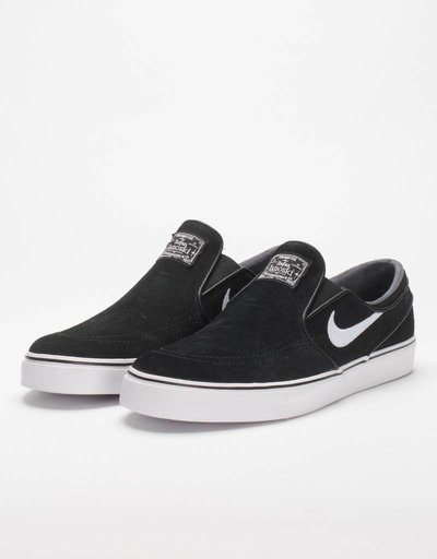 Nike Stefan Janoski Slip On Black/White