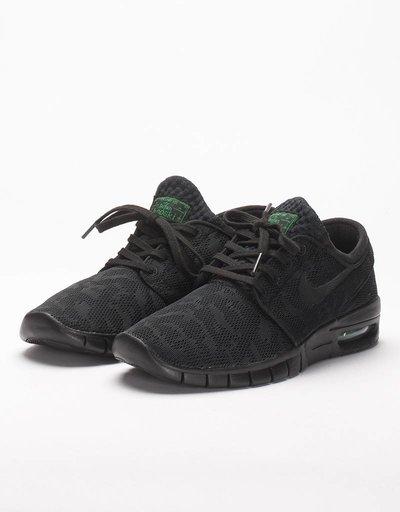 Nike Stefan Janoski Max Black/Black Pine Green