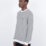 Carhartt Champ Striped Crewneck Navy/White