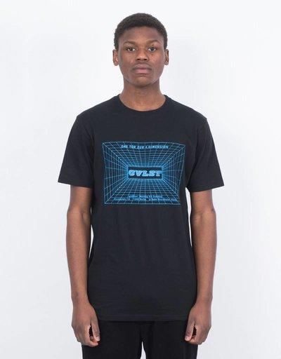 Civilist T-Shirt S.O.U.N.D. Black/Light Blue