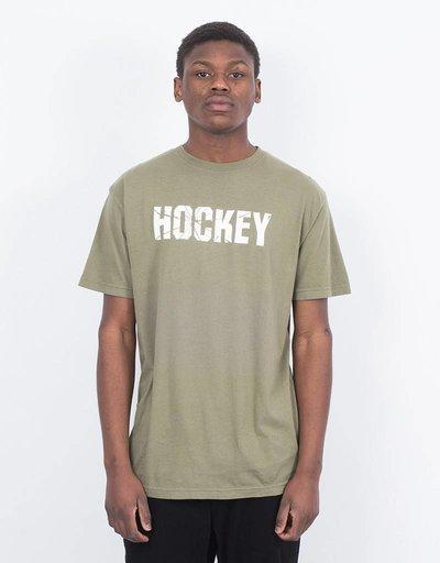Hockey Bad Radio T-shirt Light Olive