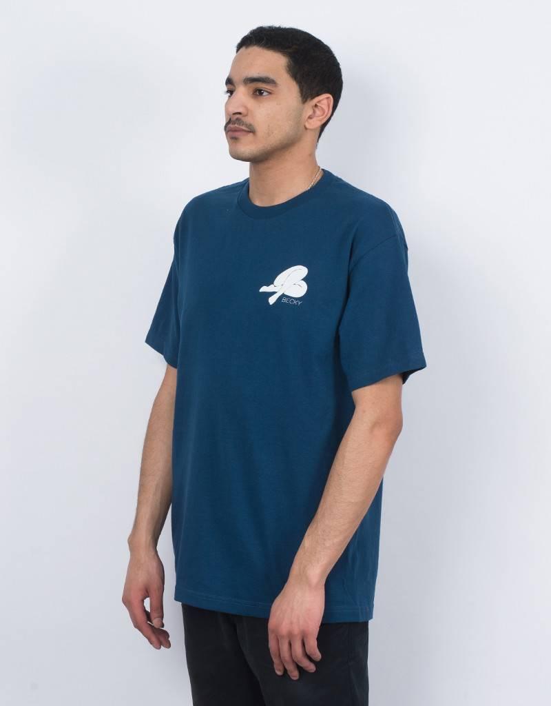Becky logo T-shirt blue