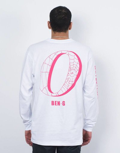 Ben G x Order Mutual Attraction Longsleeve T-Shirt White
