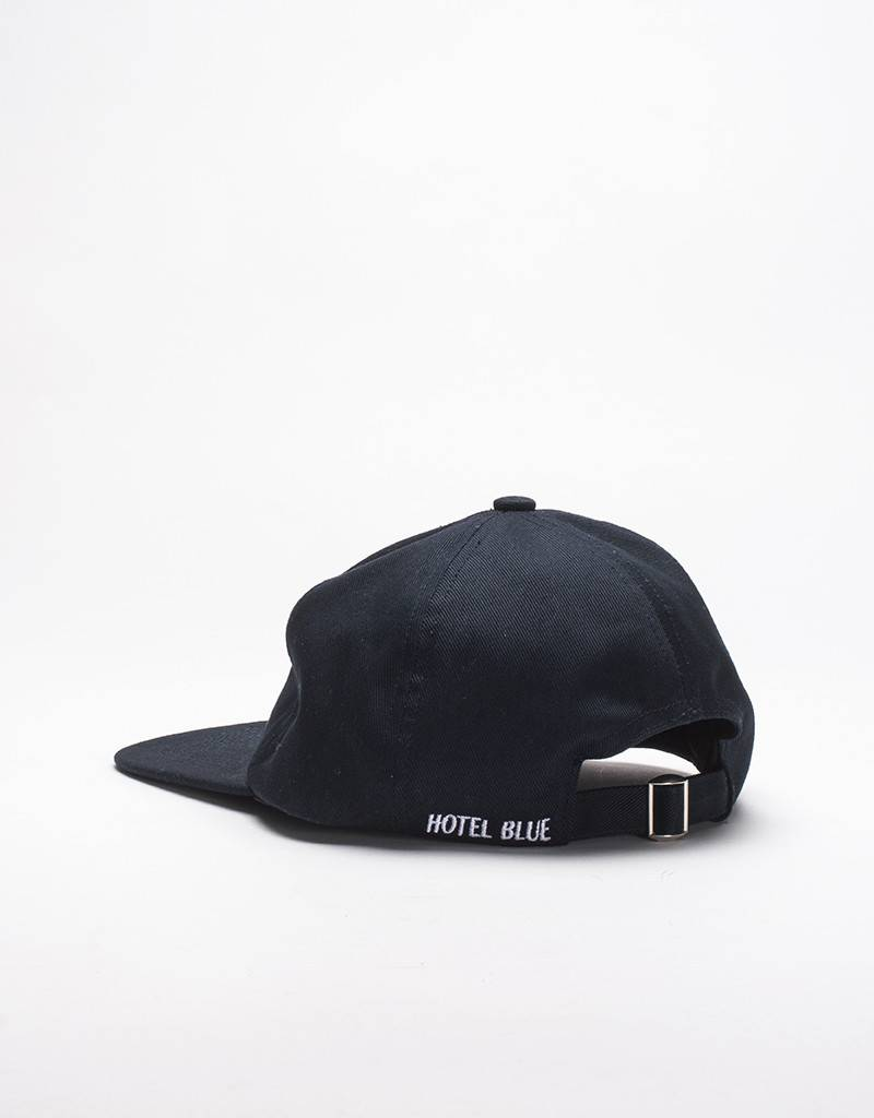 Hotel Blue 6-panel unconstructed inc Pin Cap Navy