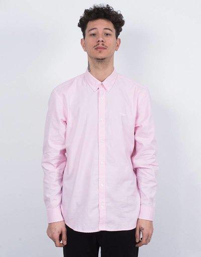 Carhartt longsleeve lancaster shirt vegas pink/wax