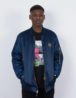 adidas Skateboarding adidas varcities jacket navy