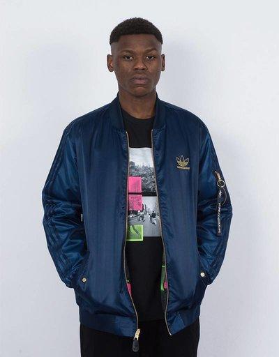 adidas varcities jacket navy