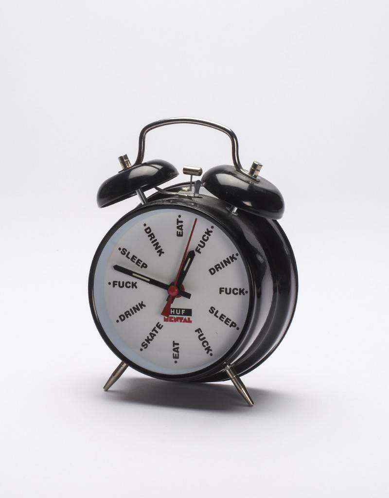 Huf Alarm Clock HUFxSM Black