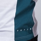 Futur Ribs T-Shirt Ox Red/Paon Green/White