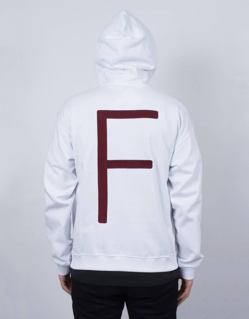Futur 3/4 F Hoodie White/Ox Red