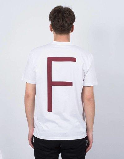 Futur F T-Shirt Ox Red/White