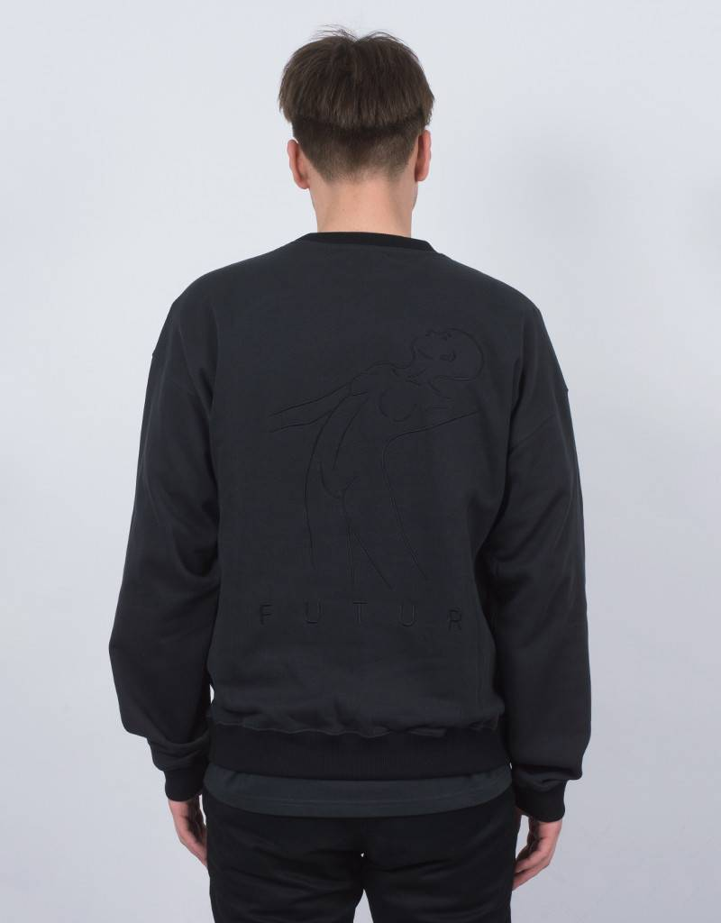 Futur New 01 Crewneck Black/Fade Black