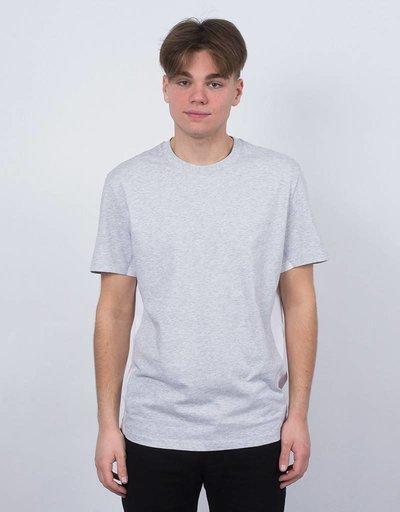 Futur Ribs T-Shirt White/Heather Grey