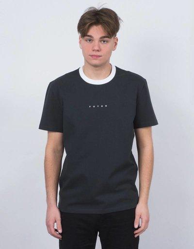Futur Ringer T-Shirt White/Fade Black