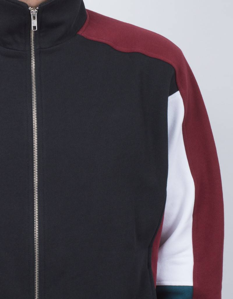 Futur Track 2 Jacket White/Paon Green/Ox Red/Fade Black