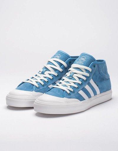 adidas Matchcourt Mid Marc Johnnson Light Blue/White