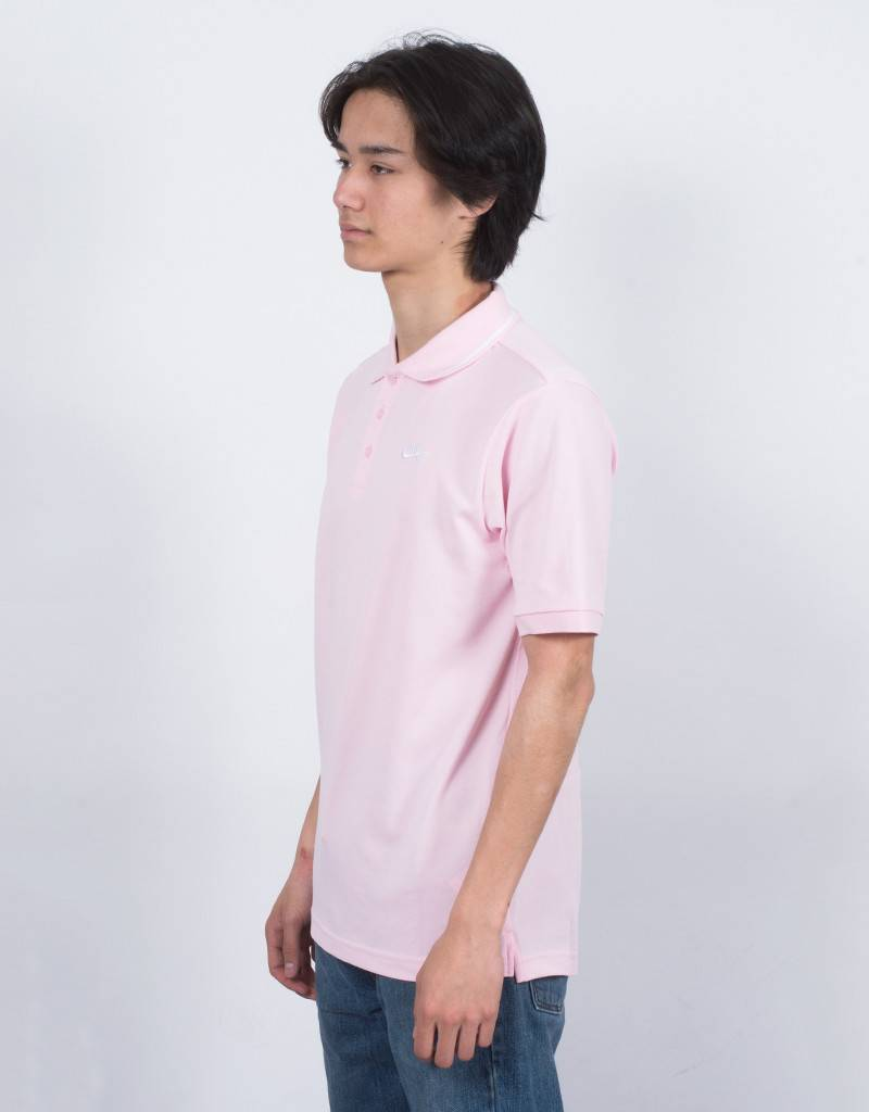 Nike SB Dry Polo Pique Prism Pink/White