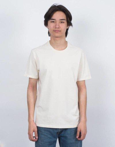 Pop Trading Co Tonal Outline Logo T-Shirt Old White