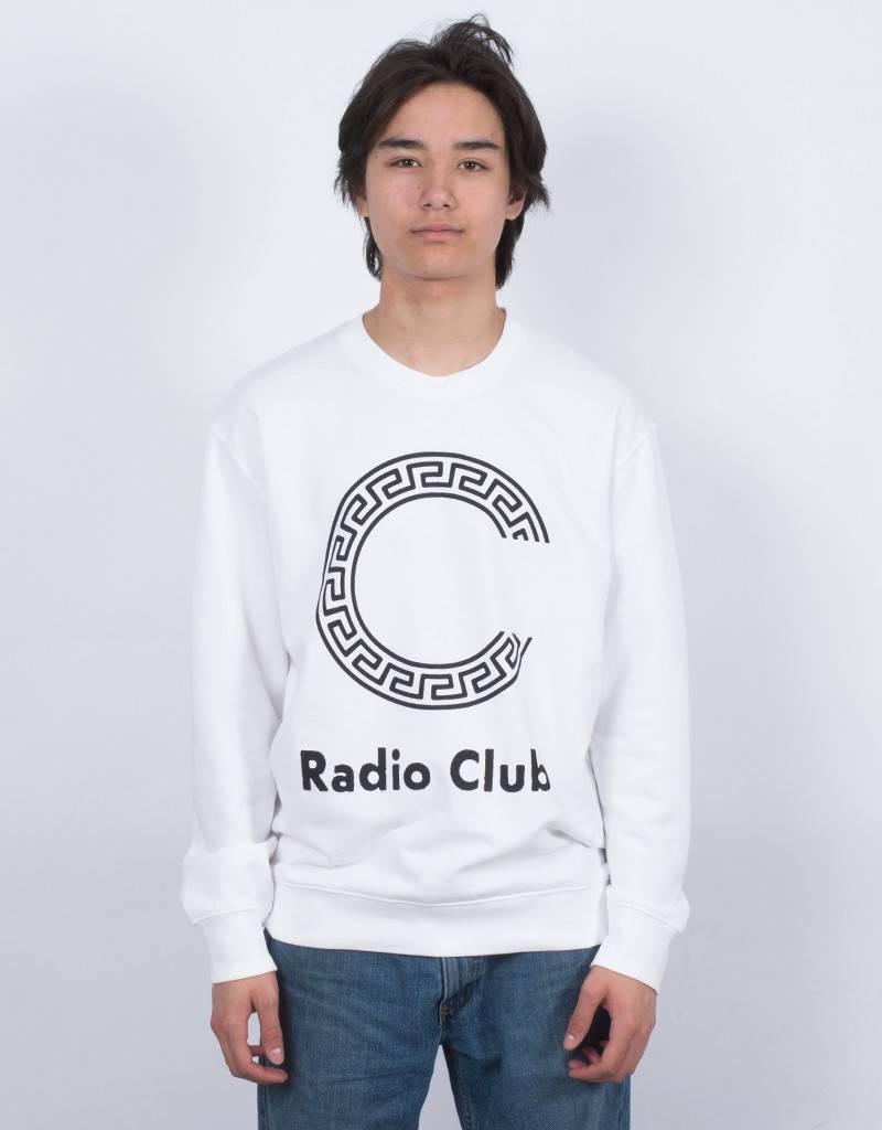 Carhartt WIP x PAM Radio Club Logo Crewneck White/Black