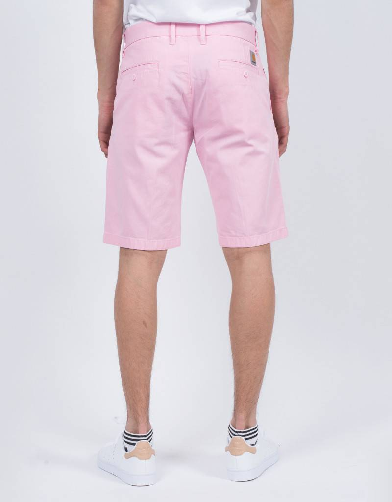 Carhartt johnson short vegas pink