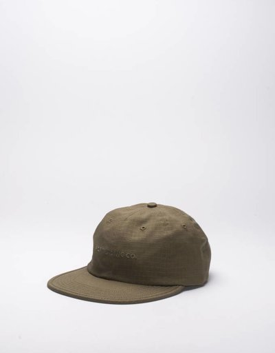 Pop Trading Co Script Flexfoam Cap Olive