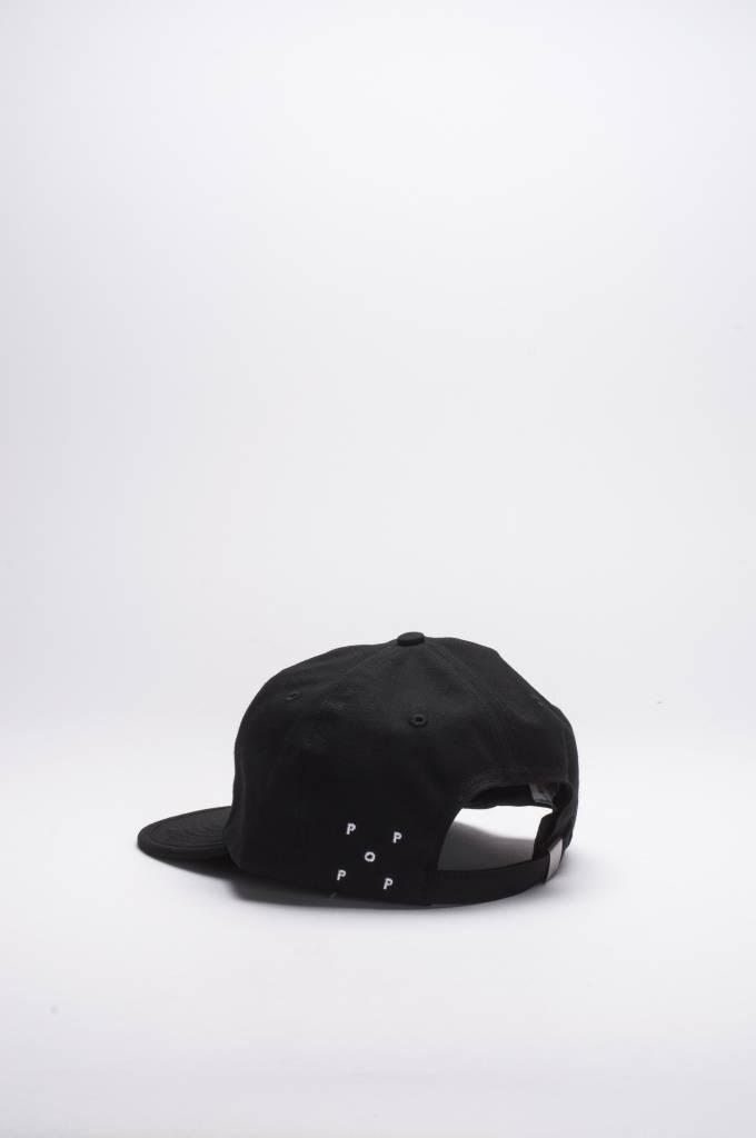 Pop Trading Co Script Flexfoam Cap Black/Black