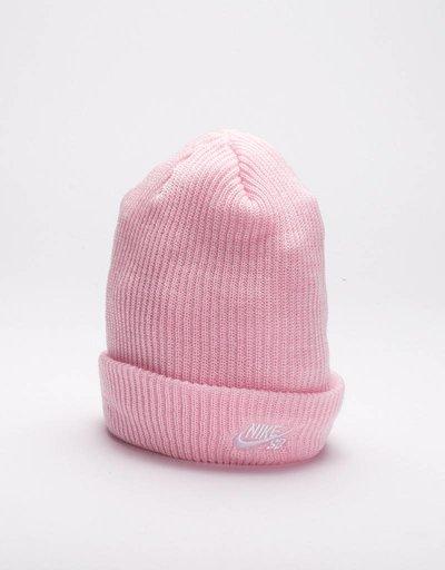 Nike Fisherman Beanie Prism Pink/White