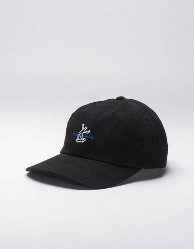 Polar Wavy Skater Cap Black